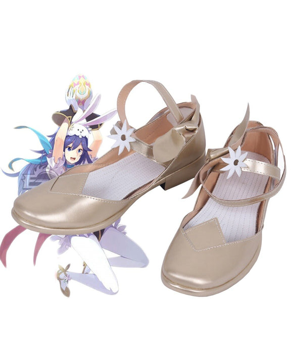 Fire Emblem Awakening Lucina Cosplay Shoes Flat Sandals Custom Made