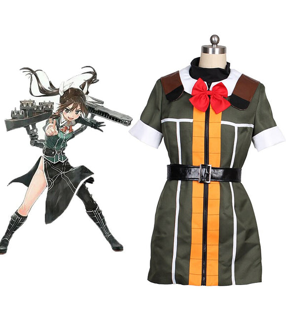 Kantai Collection Kancolle Tone Dress Cosplay Costume