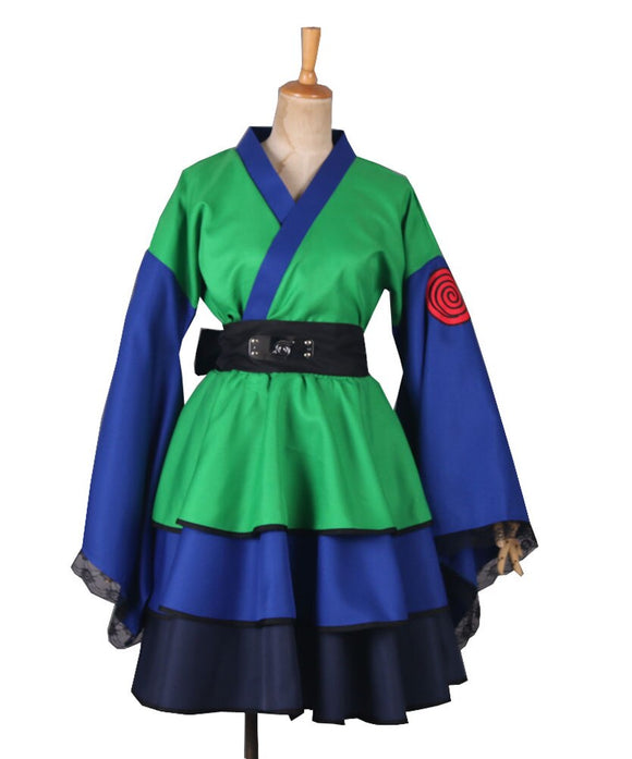 Naruto Shippuden Kakashi Female Kimono Dress Cosplay Costume