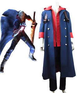 Devil May Cry 4 Nero Cosplay Costume Custom Made Full Set
