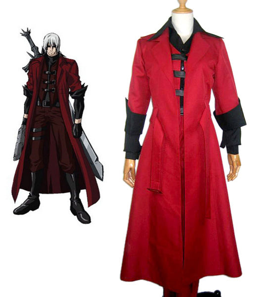 Devil May Cry3 Dante Cosplay Costume Full Set Custom Made