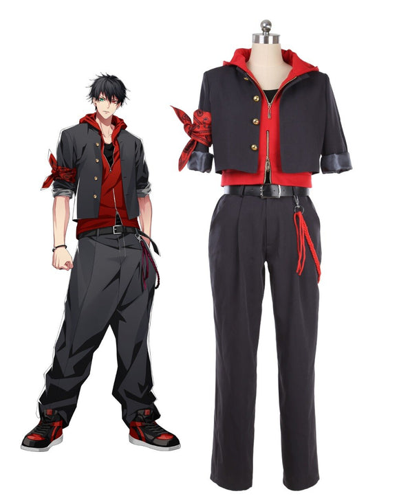 DRB Division Rap Battle Hypnosis Mic The Dirty Dawg Ichiro Yamada Coaplay Costume Custom Made Any Size