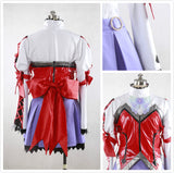 Tales of Graces Heria Barnes Cosplay Costume Custom Made