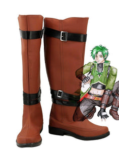 Fire Emblem: Radiant Dawn Sothe Cosplay Boots Brown Shoes Custom Made