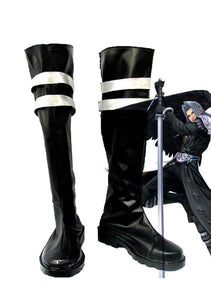 Final Fantasy VII FF7 Sephiroth Cosplay Boots Leather Shoes