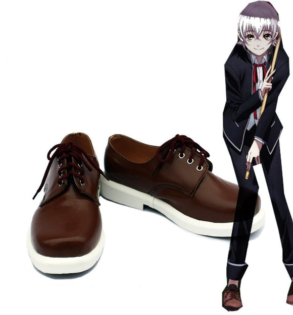 K Return of Kings Isana Yashiro Cosplay Boots Brown Shoes Custom Made