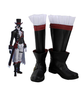 Final Fantasy 14 Plague Bringer's Shoes Cosplay Boots Custom Made Any Size