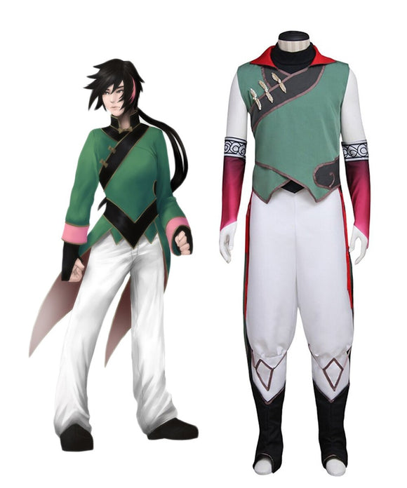 RWBY Lie Ren Cosplay Costume Custom Made Any Size