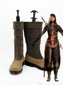 Assassin's Creed Chronicles China Shao Jun Cosplay Boots Shoes Custom Made
