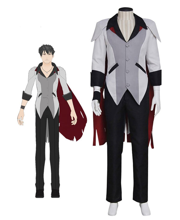 RWBY Qrow Branwen Cosplay Costume Custom Made