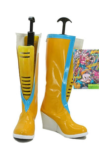 JoJo's Bizarre Adventure 6 Jolyne Kujo Cosplay Boots Yellow Shoes Custom Made