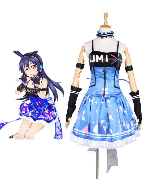 Love Live School Idol Festival Sonoda Umi Dress Cosplay Costume