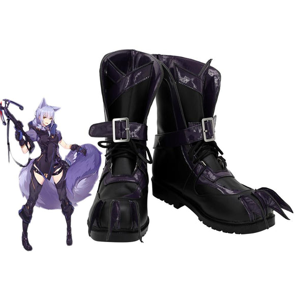 Arknights Provence Cosplay Boots Customized Leather Shoes Any Size