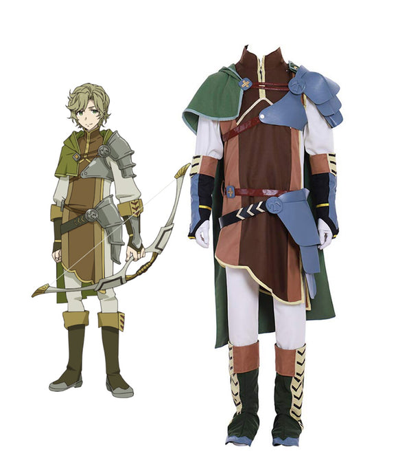 The Rising of the Shield Hero Bow Hero Itsuki Kawasumi Cosplay Costume Full Set Custom Made