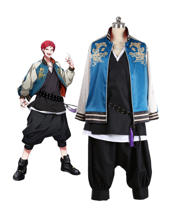 Hypnosis Mic Division Rap Battle Kuko Harai Evil Monk Cosplay Costume Custom Made