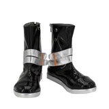 Game Arknights Saria Cosplay Boots Black Leather Shoes