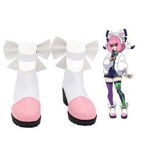 Pokemon Sword/Shield Klara Cosplay Boots Custom Made White Shoes