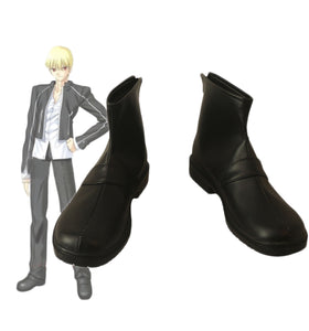 Fate Grand Order FGO Gilgamesh Cosplay Boots Black Shoes Custom Made Any Size