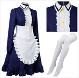 The Seven Deadly Sins Elizabeth Liones Maid Dress Cosplay Costume Custom Made