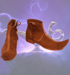 Movie Aladdin Cosplay Boots Prince Aladdin Cosplay Shoes Custom Made Boots Halloween Cosplay Costume Accessories