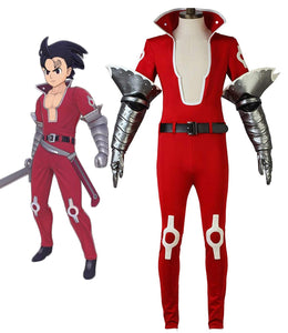 The Seven Deadly Sins Zeldris Cosplay Costume Full Set Custom Made