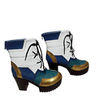 League of Legends LOL True Damage Qiyana Cosplay Boots High Heel Shoes Custom Made for Unisex