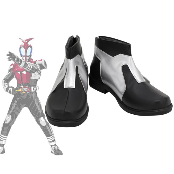 Masked Rider Kamen Rider kabuto Cosplay Boots Leather Shoes Custom Made