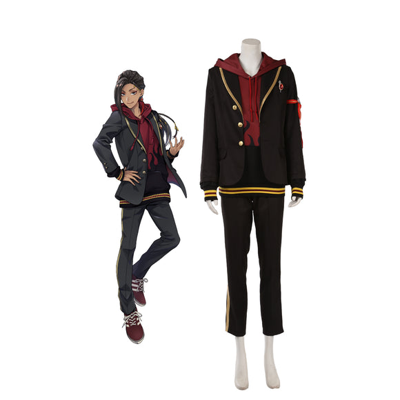 Disney Twisted-Wonderland Scarabia Jamil・Viper Cosplay Costume
