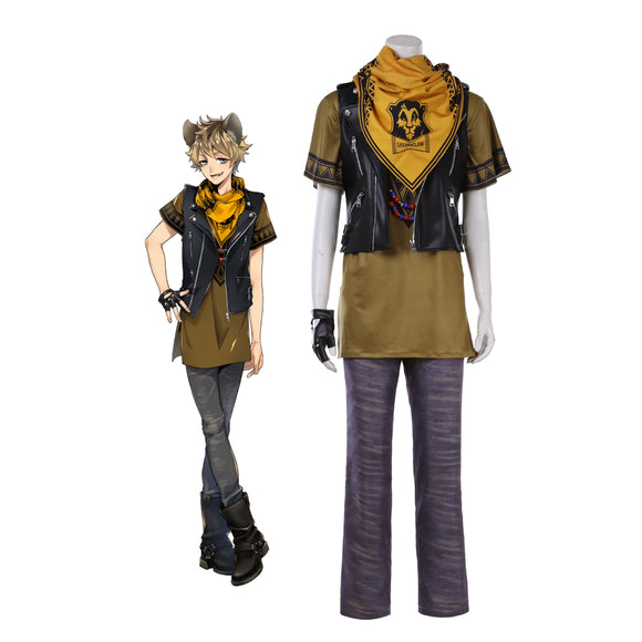 Disney Twisted-Wonderland Savanaclaw Ruggie Bucchi Cosplay Costume
