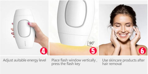 IPL Laser Hair Removal Step By Step Guide