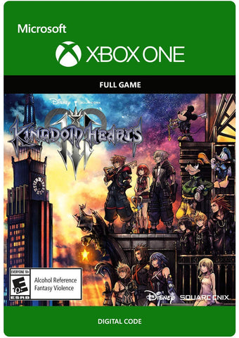 Kingdom Hearts III XBOX game Download