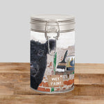 Belted Galloway Storage Tin - And that's how Belties are made. - Kitchy & Co