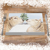 Christmas Placemat - I love Ewe - Kitchy & Co