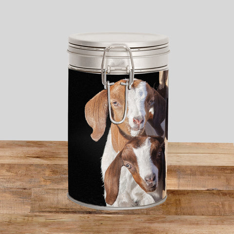 Goats Storage Tin - The adventure starts here - Kitchy & Co