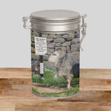 Herdwick Sheep Storage Tin - Why walk when Ewe can take the bus - Kitchy & Co