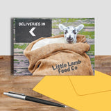 Little lamb greetings card - Happy Stowaway - Kitchy & Co