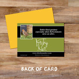 Robin greetings card - Kitchy & Co