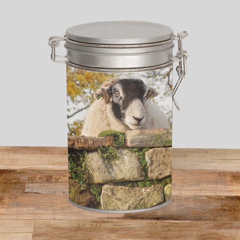 Swaledale Sheep Storage Tin - Scrumping Apples - Kitchy & Co
