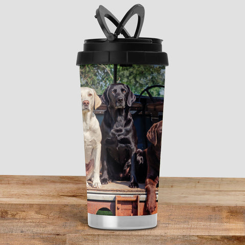 Labrador Travel Mug - Ready Willing and Able - Kitchy & Co