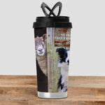 Border Collie Travel Mug - Behind Ewe - Kitchy & Co