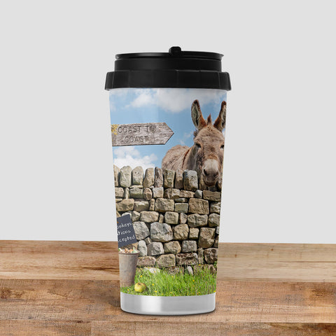 Retired Donkey Travel Mug - Dandy & Buttercup - Kitchy & Co