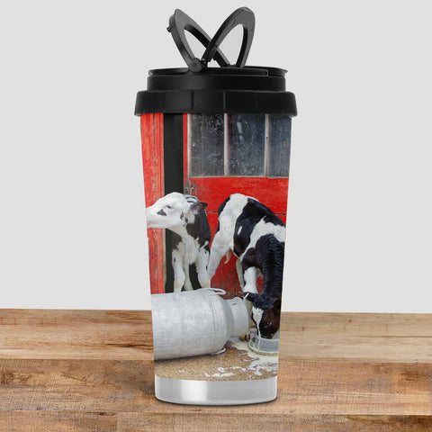 Dairy Calves Travel Mug - Double Trouble - Kitchy & Co