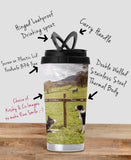 Highland Cow Travel Mug - Scarecrow festival - Kitchy & Co