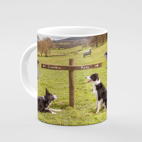Sheepdog Mug - Ewe take the Left - Kitchy & Co