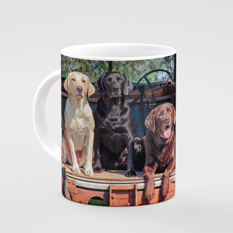 Labrador Mug - Ready Willing and Able - Kitchy & Co