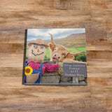 Highland cow Glass drinks Coaster - Village scarecrow festival - Kitchy & Co