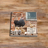 Chicken Glass drinks Coaster - Pick your own - Kitchy & Co