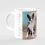 Border collie and Lamb Mug - Bess gets a new lodger - Kitchy & Co