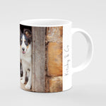 Tri Colour Border Collie Mug - If your names not down - Kitchy & Co
