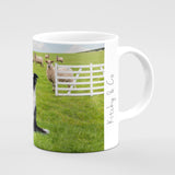 Sheepdog Trial Mug - If only we could get her to blow it - Kitchy & Co